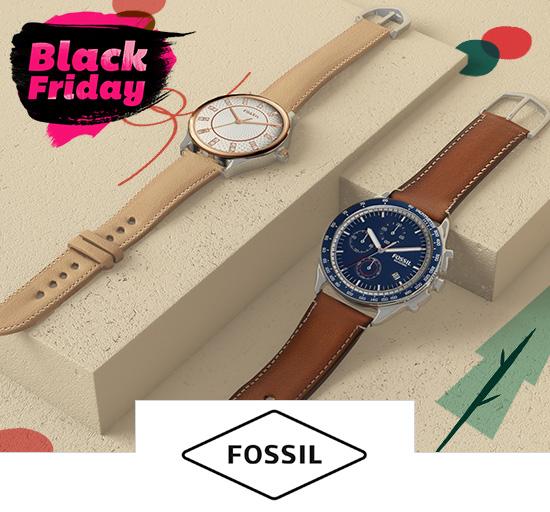 Vente privée de montres Fossil, Black Friday sur Showroomprivé