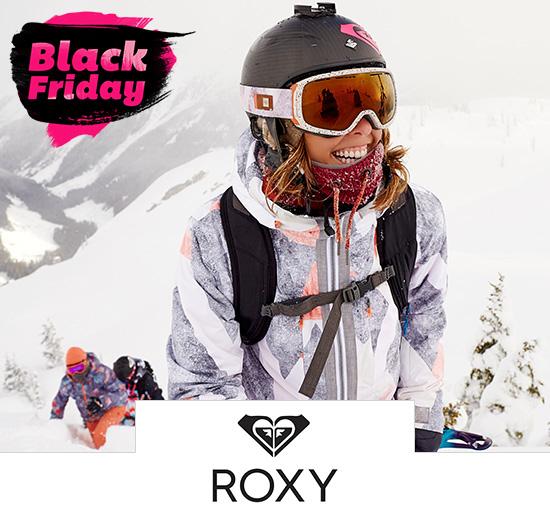 Vente privée de vêtements et équipement pour femme Roxy, Black Friday sur Showroomprivé
