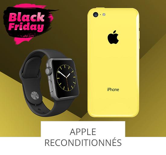 Black Friday - vente Apple reconditionnés