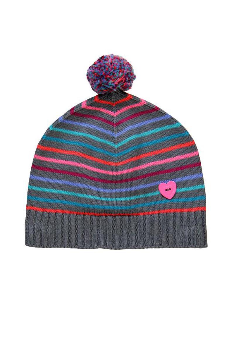 Vente privée Boboli Showroomprivé vêtements et accessoires pour garçons et filles, bonnet rayé à pompon