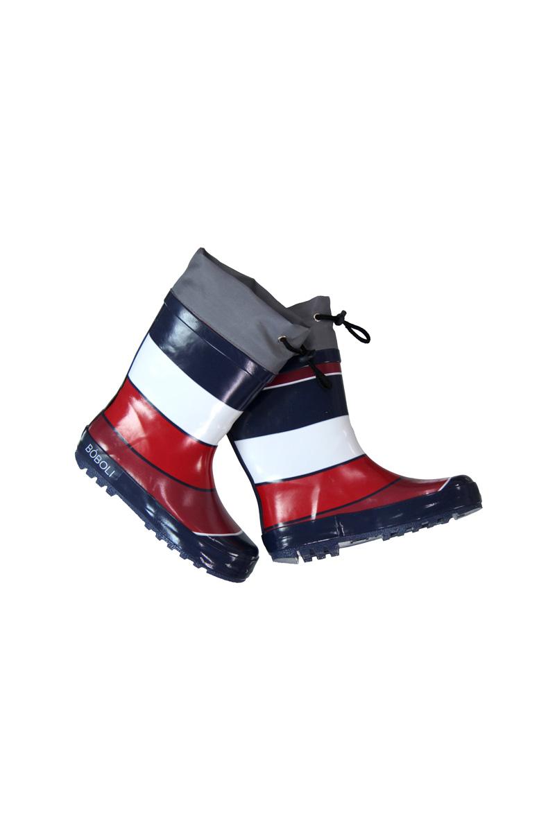 Vente privée Boboli Showroomprivé vêtements et accessoires pour garçons et filles, bottes de pluie rayées