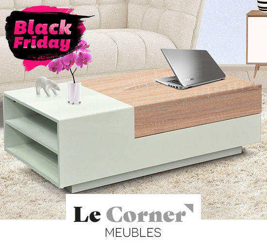 Vente privée de meubles, Black Friday sur Showroomprivé