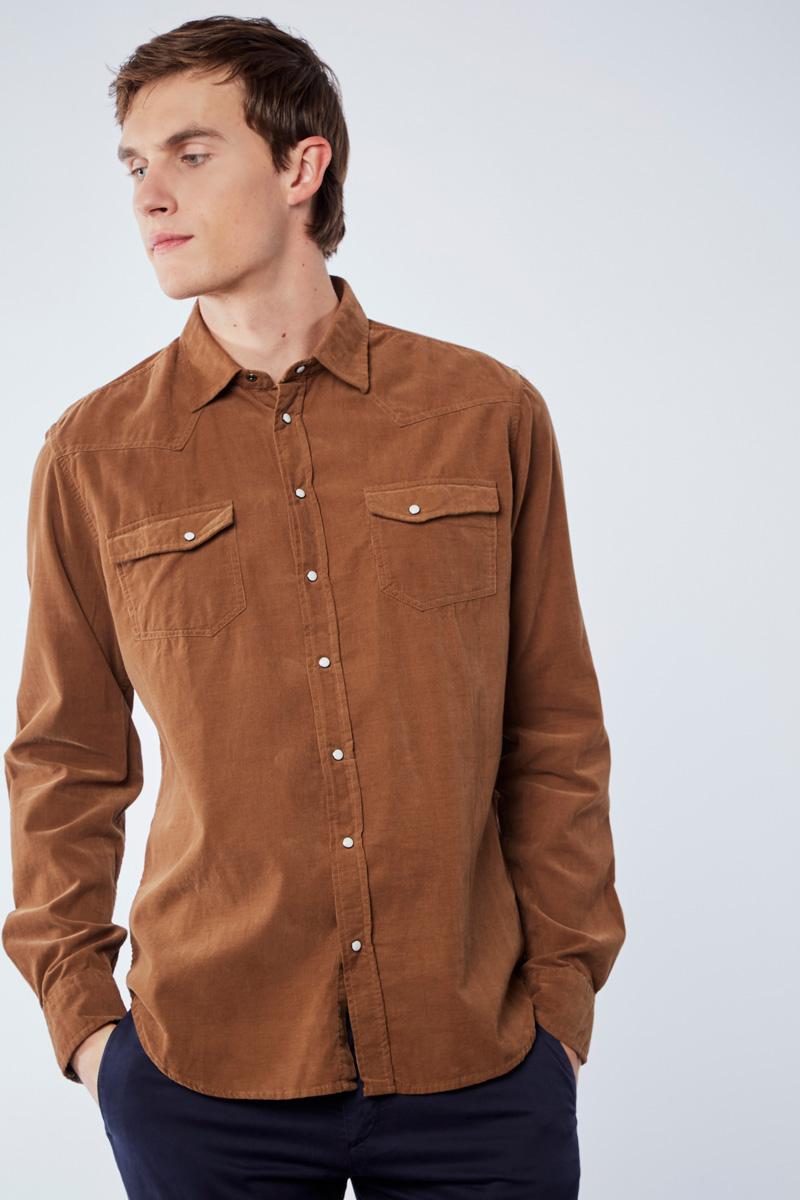 Vente privée Izac disponible sur Showroomprivé vêtements et accessoires pour homme, chemise marron