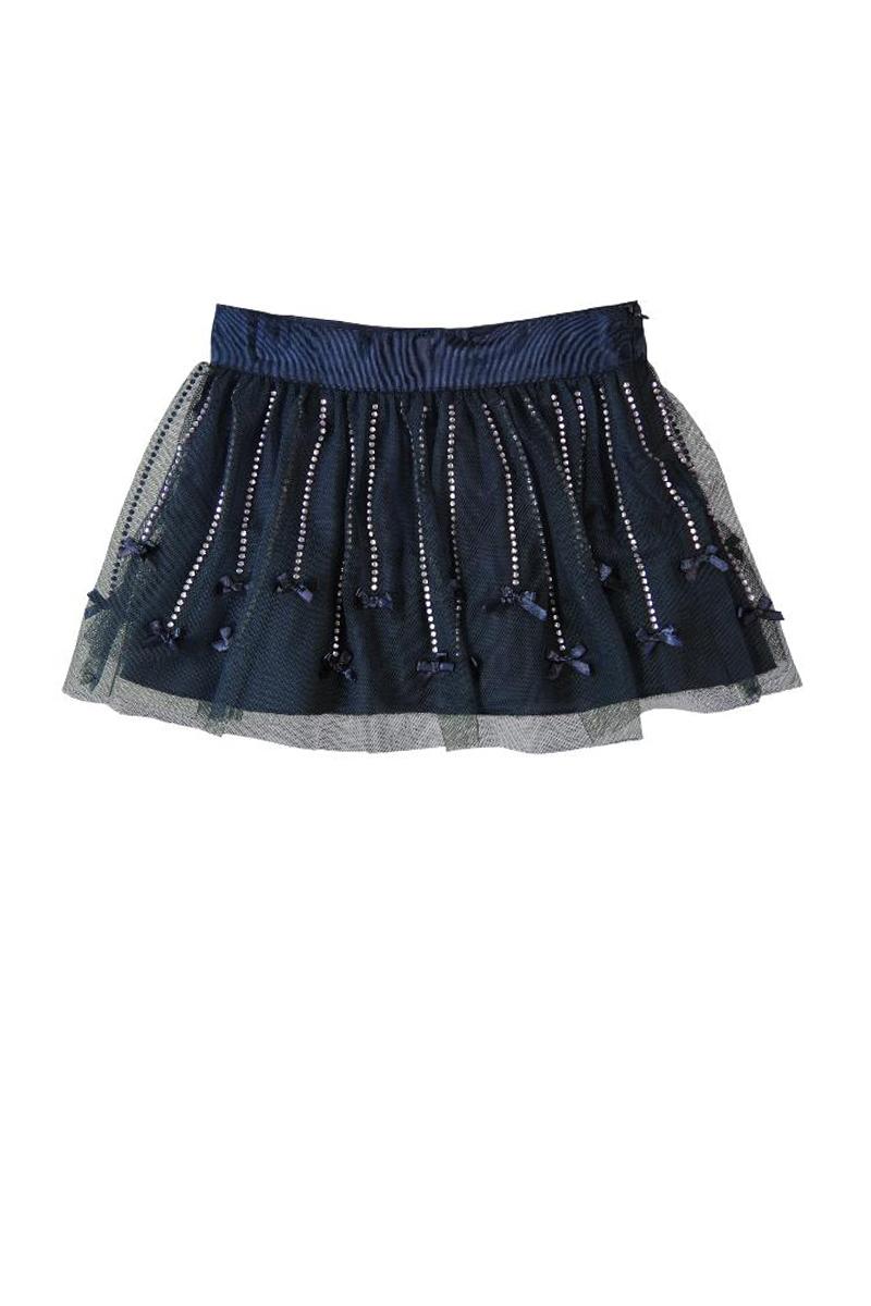 Vente privée Boboli Showroomprivé vêtements et accessoires pour garçons et filles, jupe tutu bleu marine