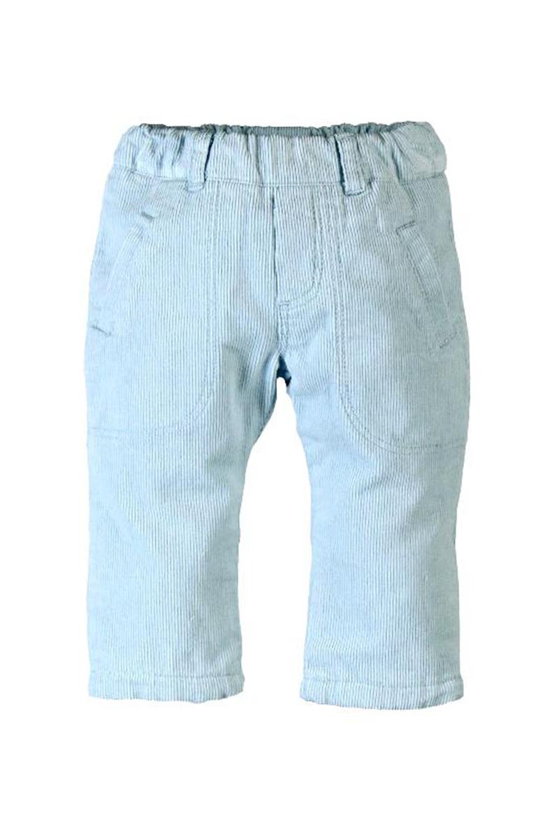 Vente privée Boboli Showroomprivé vêtements et accessoires pour garçons et filles, pantalon bleu clair en velours cotelé