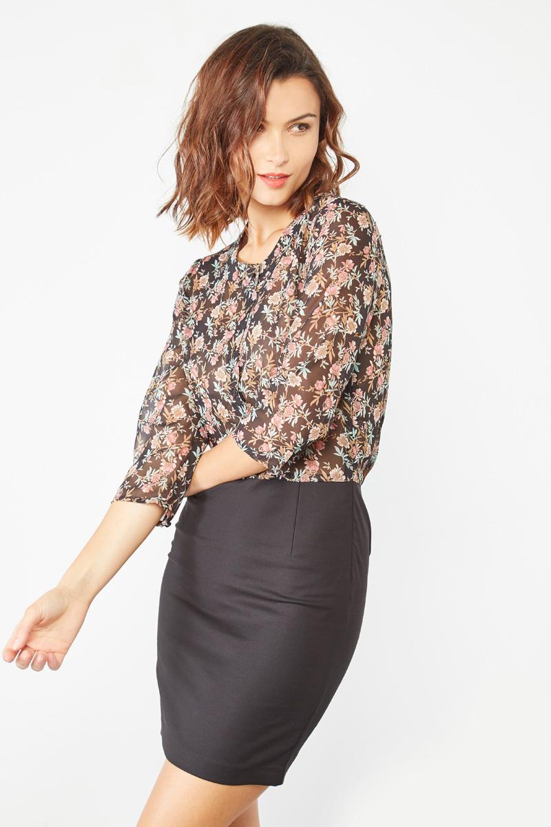 Vêtements pour femmes #collectionIRL sur Showroomprivé, robe transparence et effet cuir