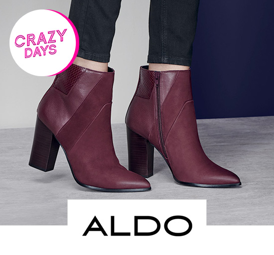 Vente privée de chaussures Aldo - Crazy Days, sur Showroomprivé.