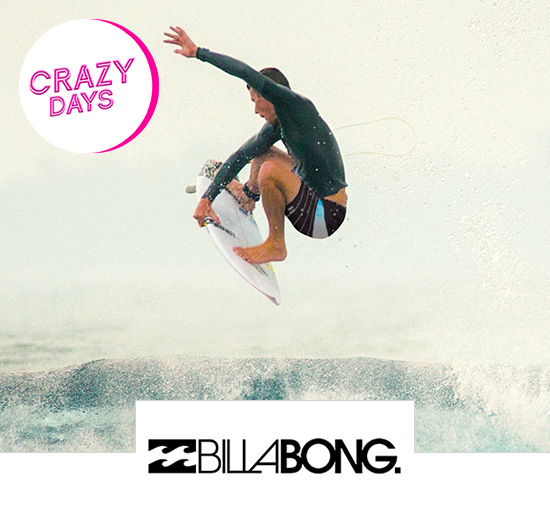 Vente privée Billabong - Crazy Days, sur Showroomprivé.