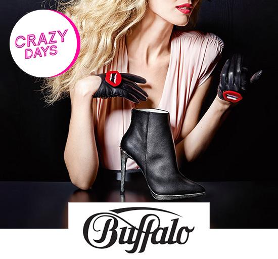 Vente privée de chaussures Buffalo pour Crazy Days, sur Showroomprivé.