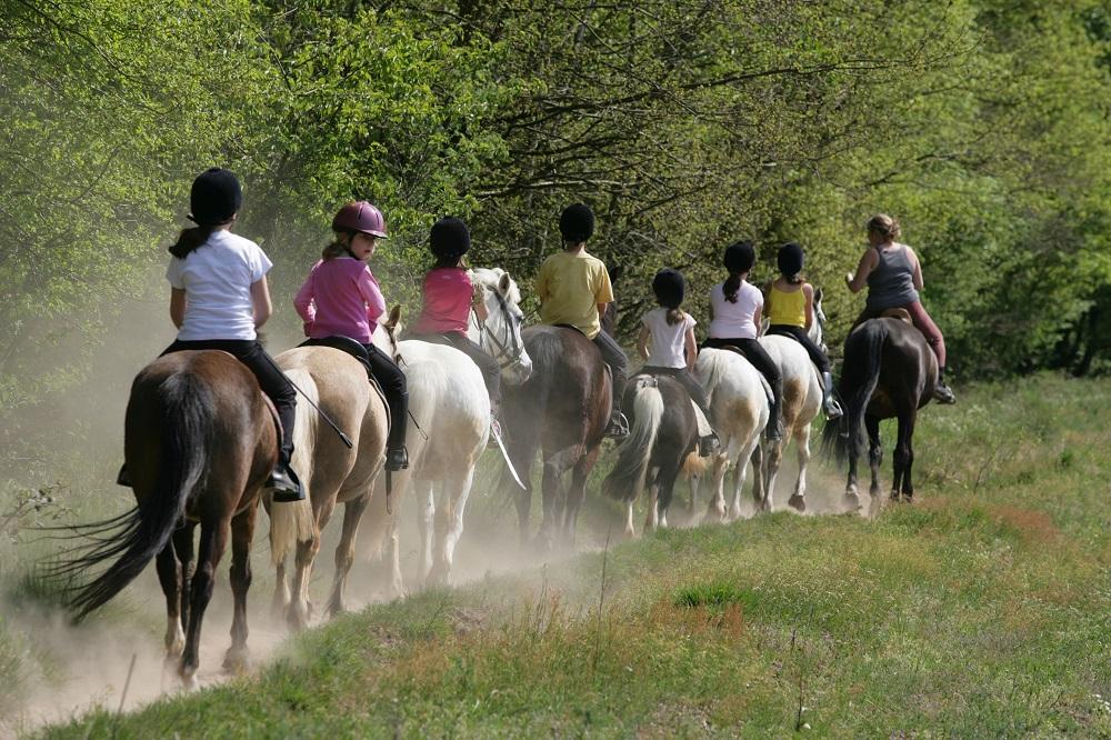 Center Parcs - faire du cheval