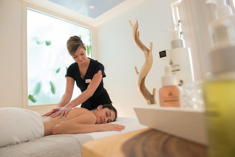 Center Parcs - massage au spa
