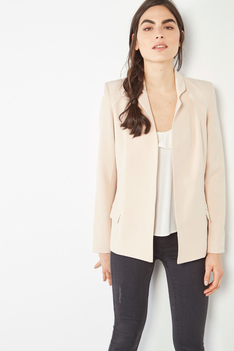 Blazer rose poudré #collectionIRL