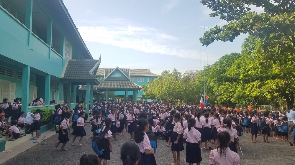 Interview Emilie et Alexandra, les collaboratrices de Showroomprivé au Cambodge pour l'association Toutes à l'école.