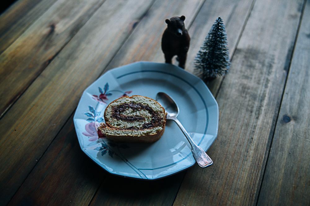 Tuto Noël : la buche roulée d'Elisa d'Et Dieu créa