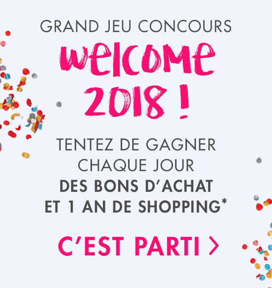 Jeu concours Showroomprivé Welcome 2018