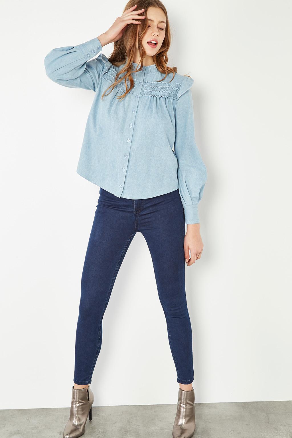 Chemise en jean #collectionIRL sur Showroomprivé.