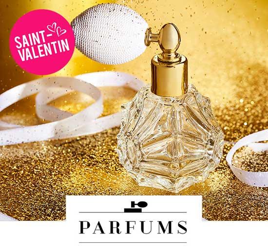 Vente Parfums - Spécial Saint-Valentin