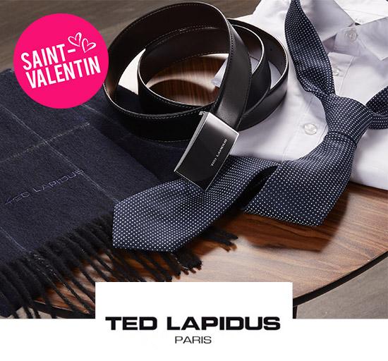 Vente Ted Lapidus - Spécial Saint-Valentin
