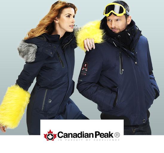 Vente privée de vêtements d'hiver pour hommes et femmes Canadian Peak sur Showromprivé.