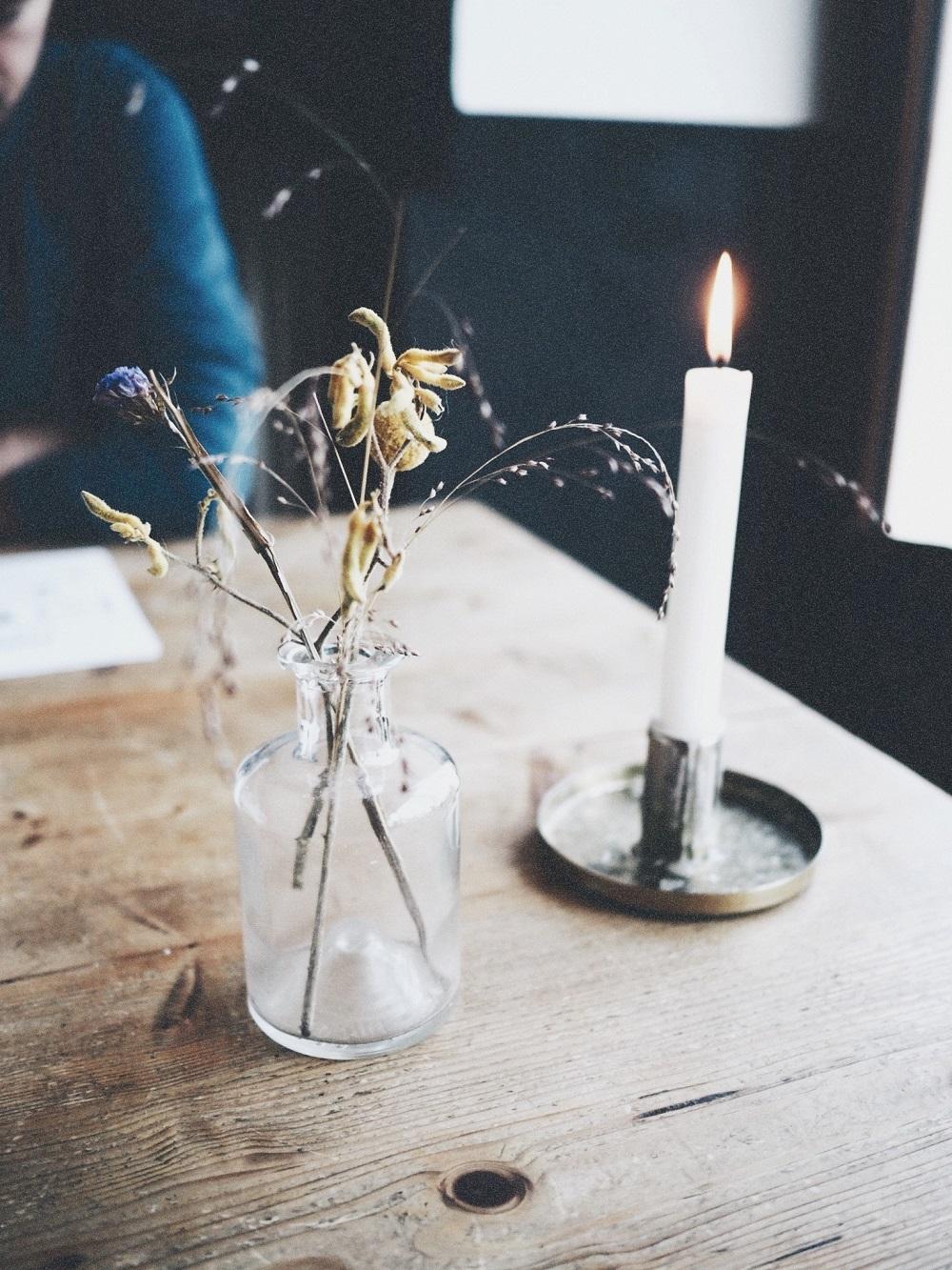 Hygge- allumer des bougies