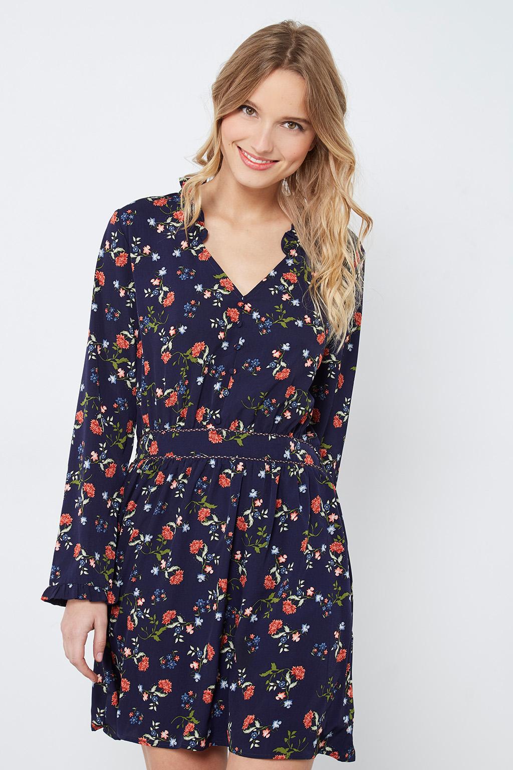 Robe à fleurs printemps #collectionIRL sur Showroomprivé.