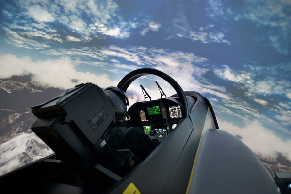 Vente I-Way : simulateur avion