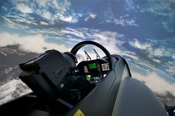 Vente I-Way : simulateur avion
