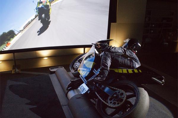 Vente I-Way : simulateur moto