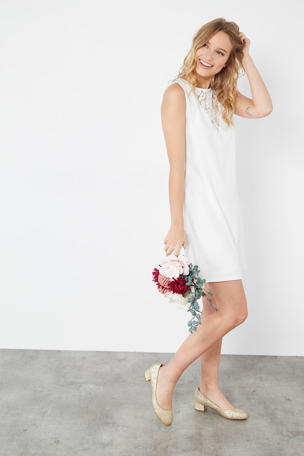 Vente privee robe blanche