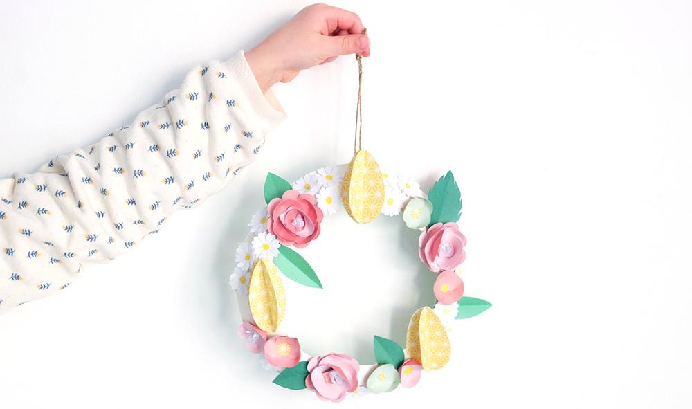 Kids Only mars : tuto couronne de fleurs
