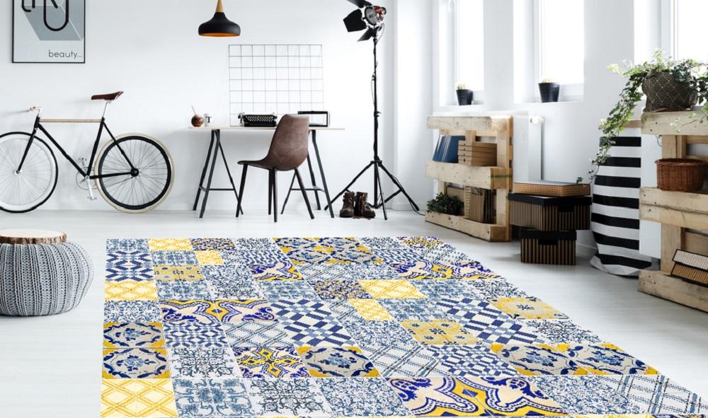 Lifestyle deco suelos llenos de arte con floorart - Alfombras vinilicas floorart ...