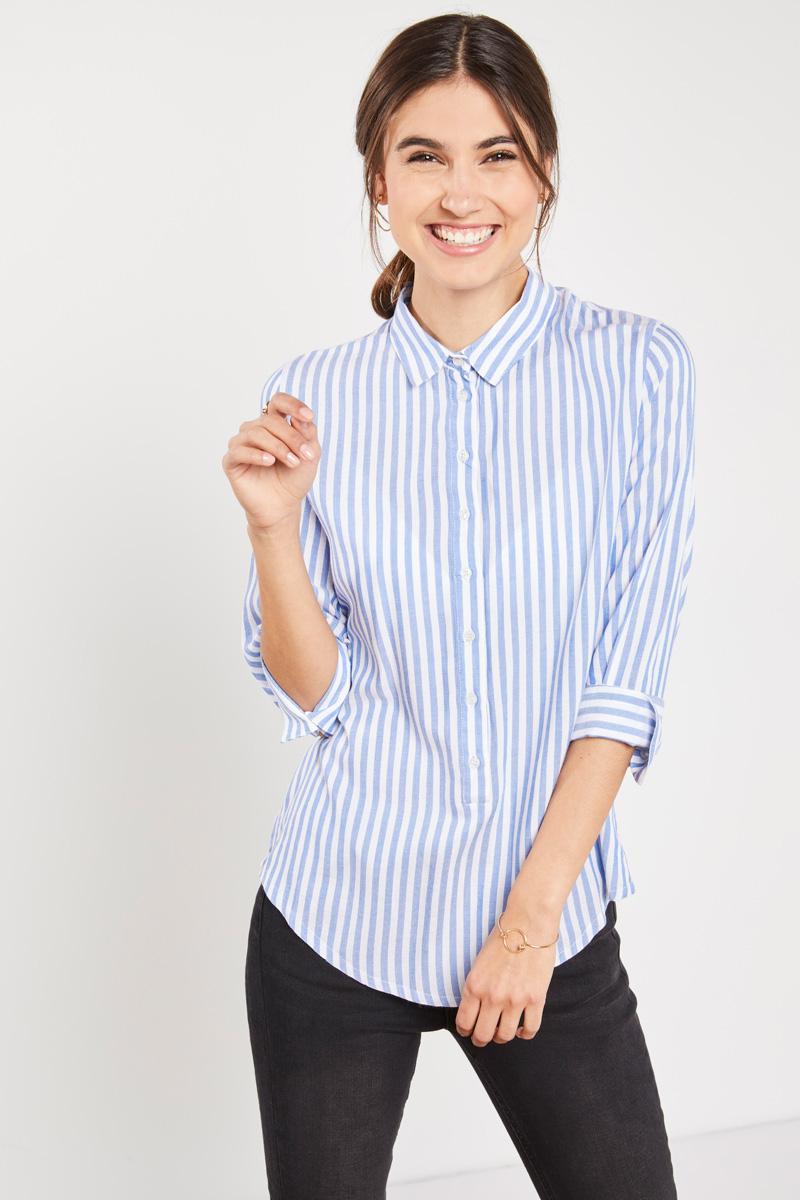 #collectionIRL : blouse légère à rayures