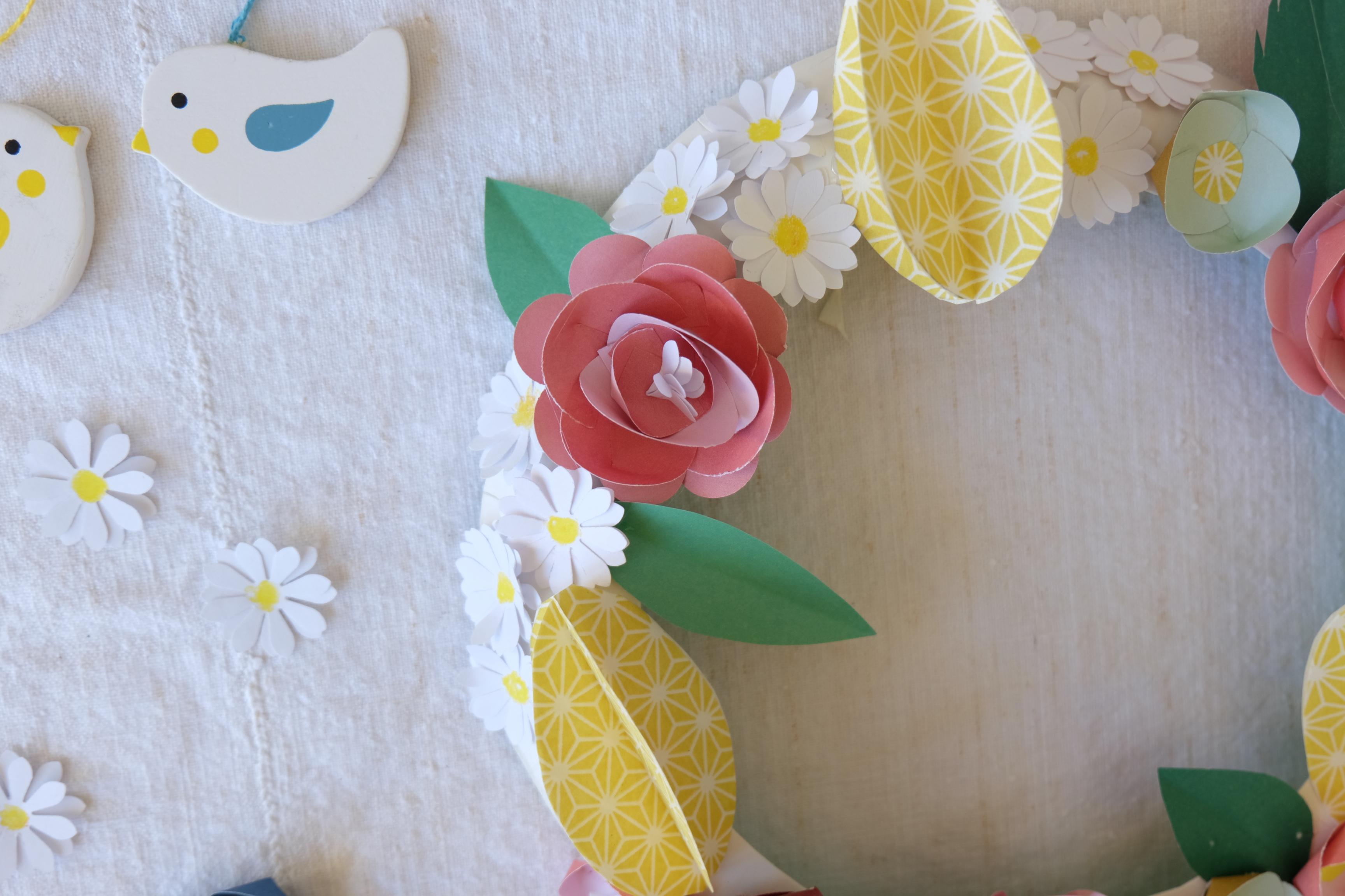 Kids Onlu mars : tuto couronne de fleurs