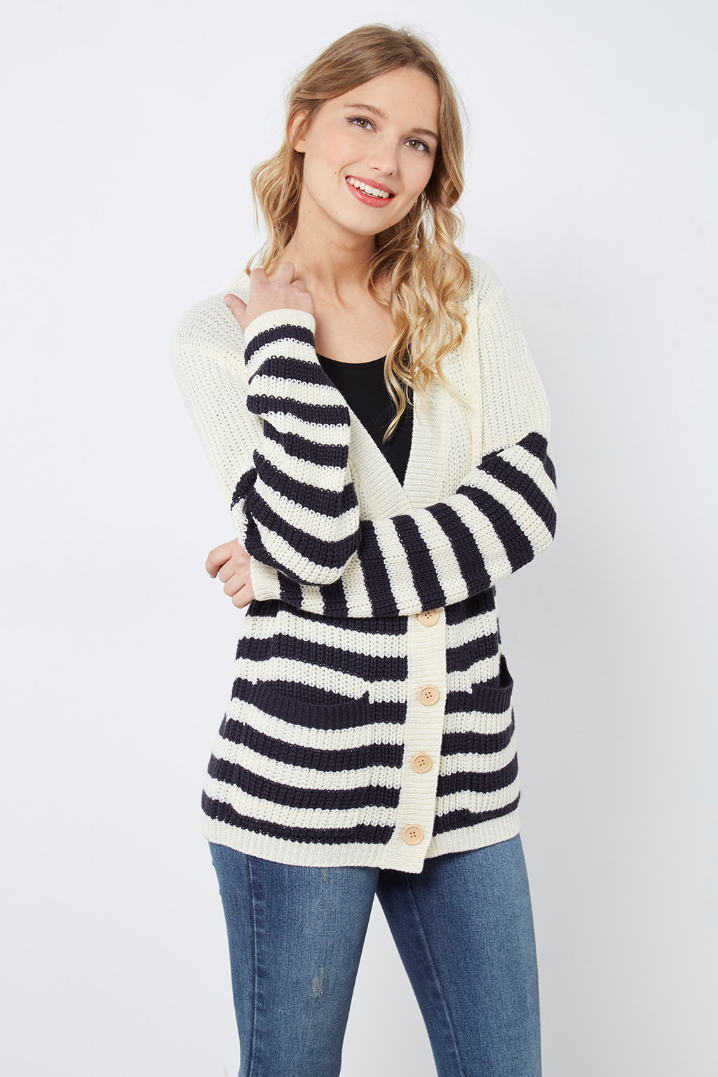 Cardigan en grosse maille #collectionIRL