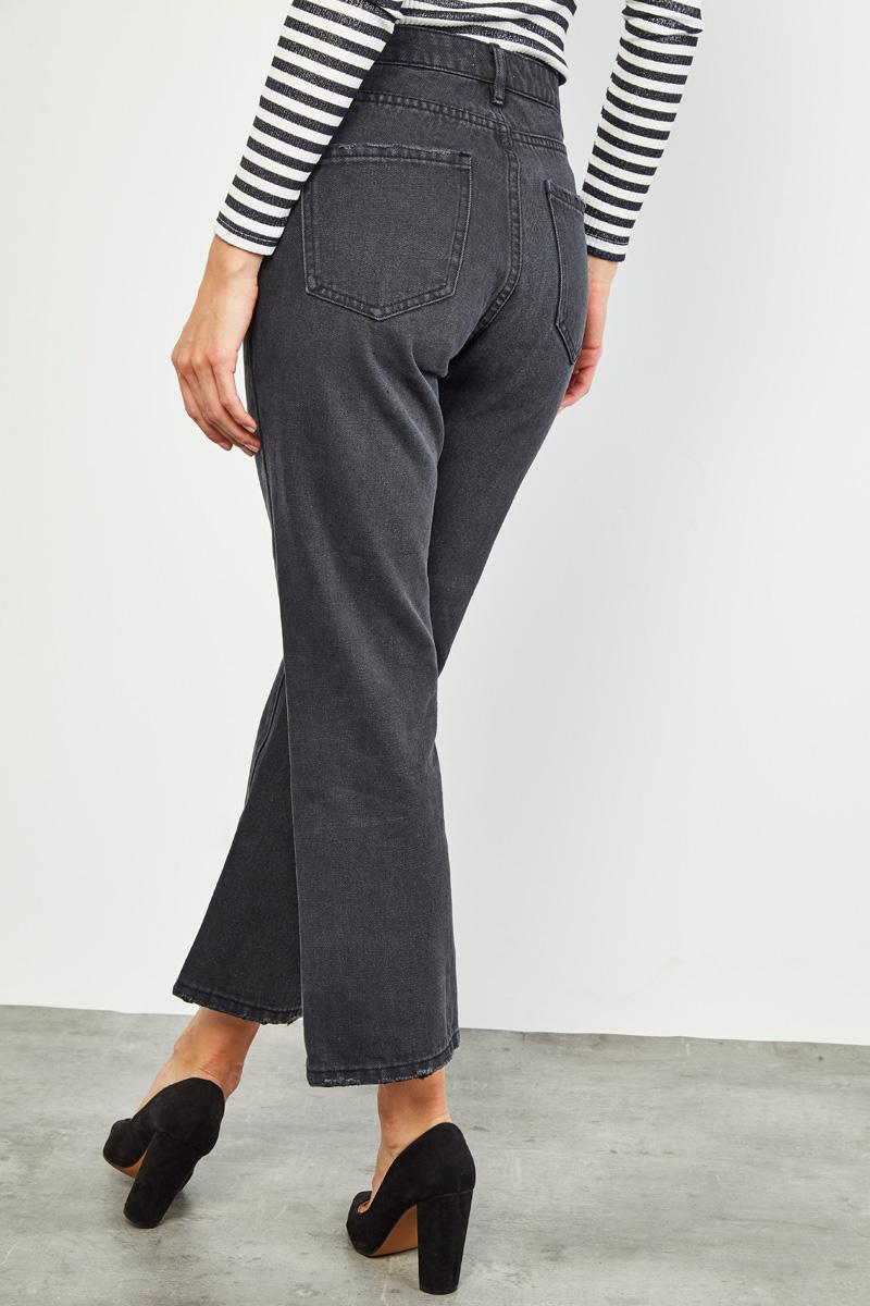 Jean mom noir #collectionIRL
