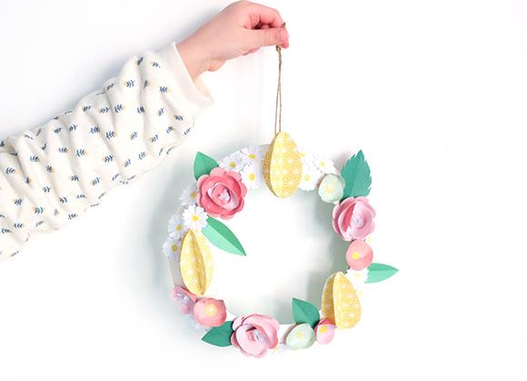 Kids Only mars : couronne de fleurs