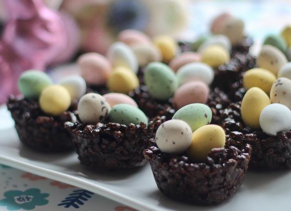 Tuto food : les petits nids de Pâques