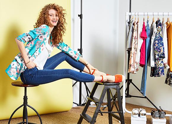 Look complet prêt à porter et accessoires #collectionIRL sur Showroomprivé