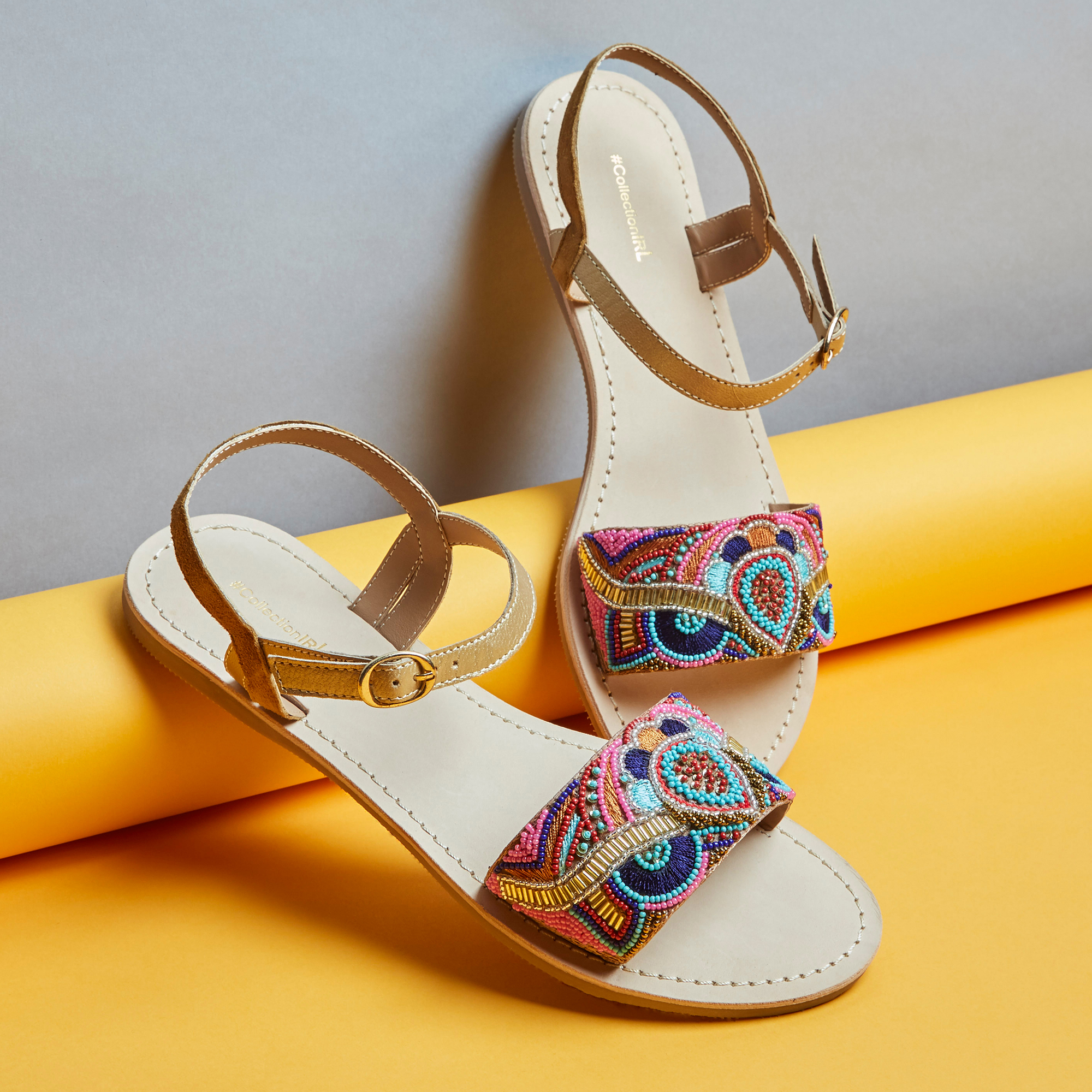 Collection de sandales, baskets et espadrilles #collectionIRL sur Showroomprivé.