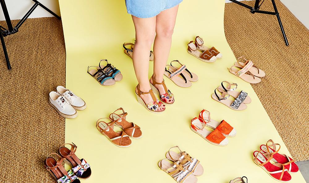 Nouvelle collection de chaussures pour femmes #collectionIRL sur Showroomprivé.