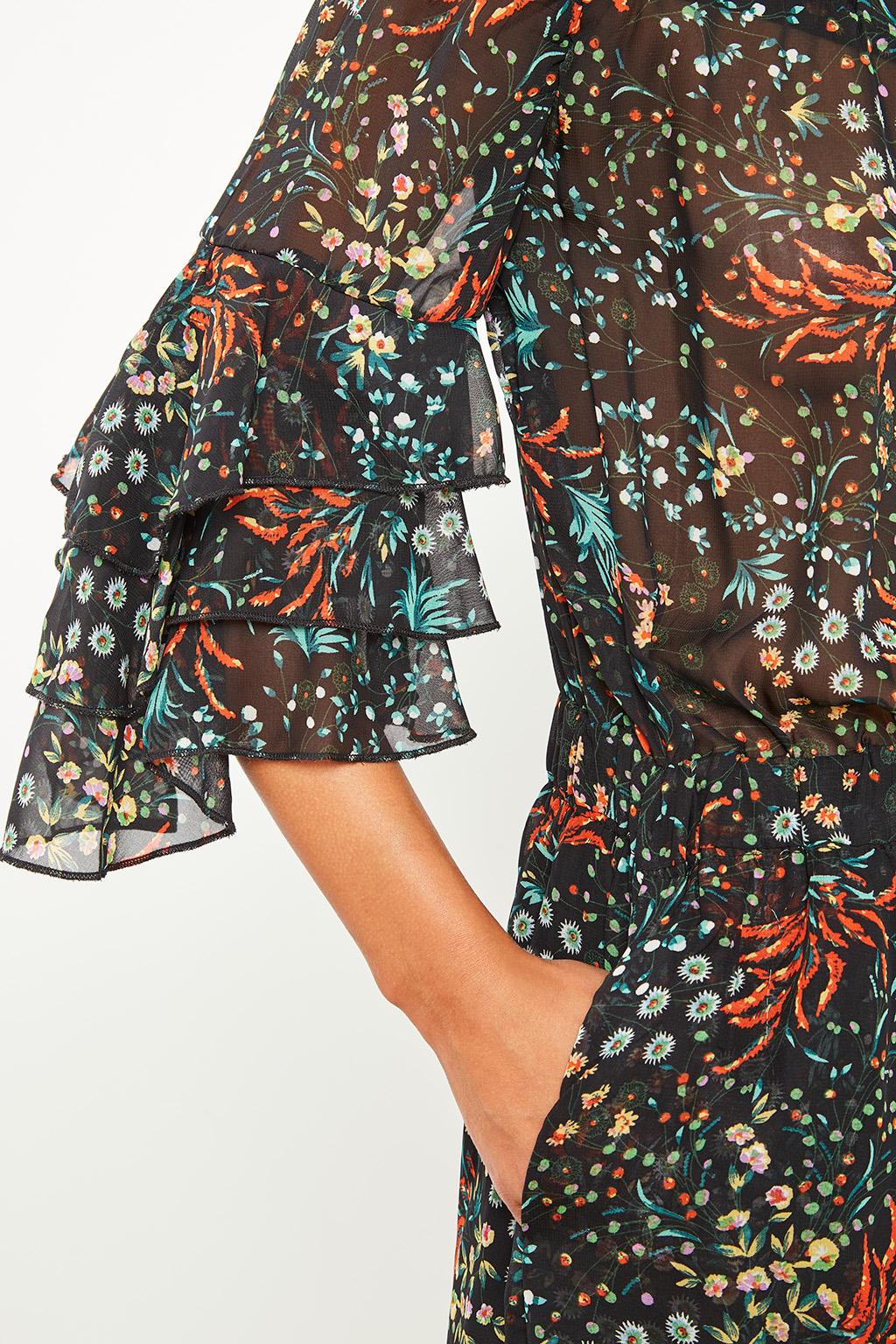 Combi-short à fleurs #collectionIRL sur Showroomprivé