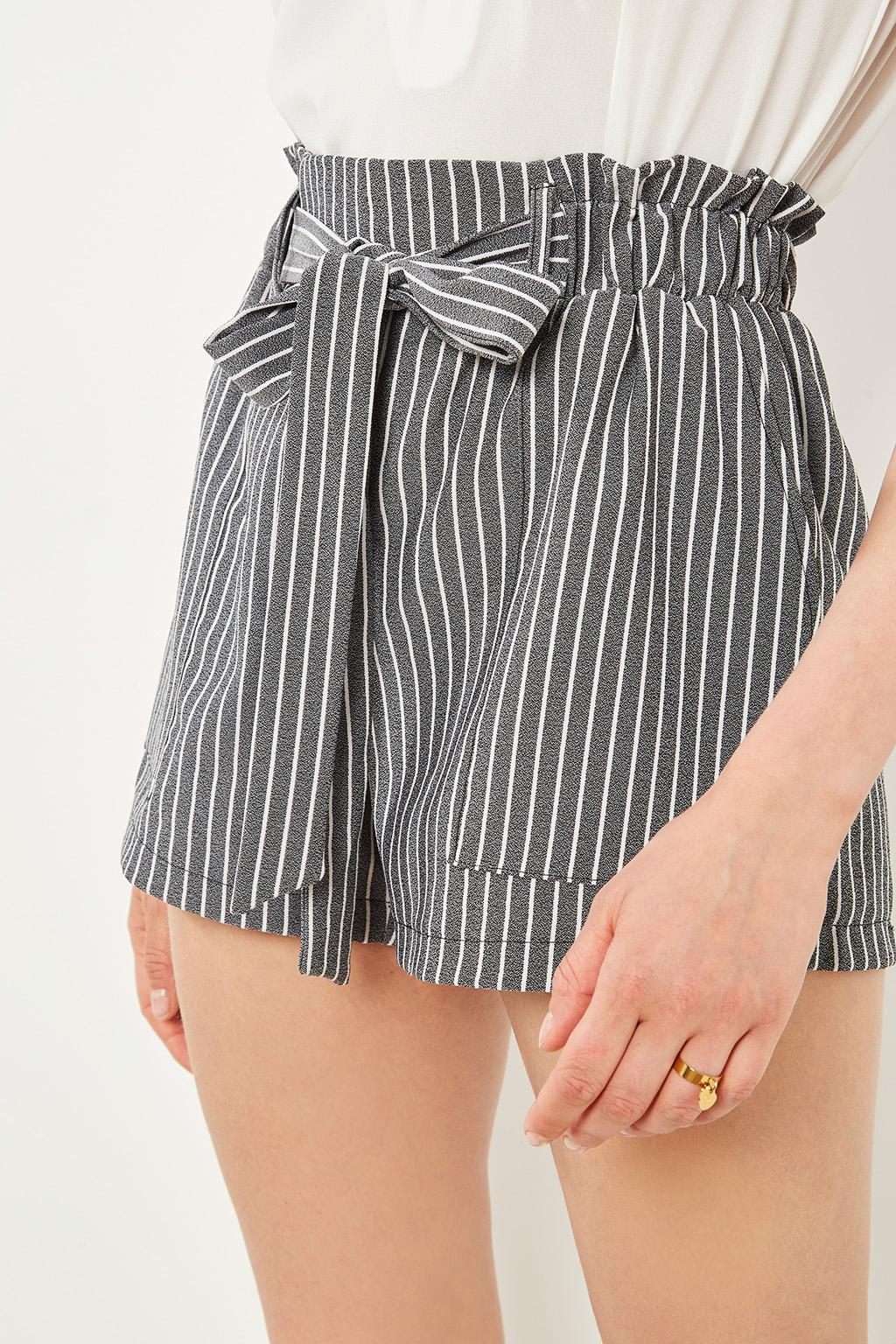 Short à rayures #collectionIRL sur Showroomprivé