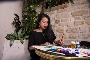 Interview No Filter de Mai Hua, créatrice de couleurs.