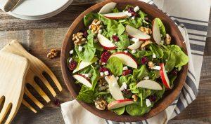 5 idées de recette de salade composée de saison.