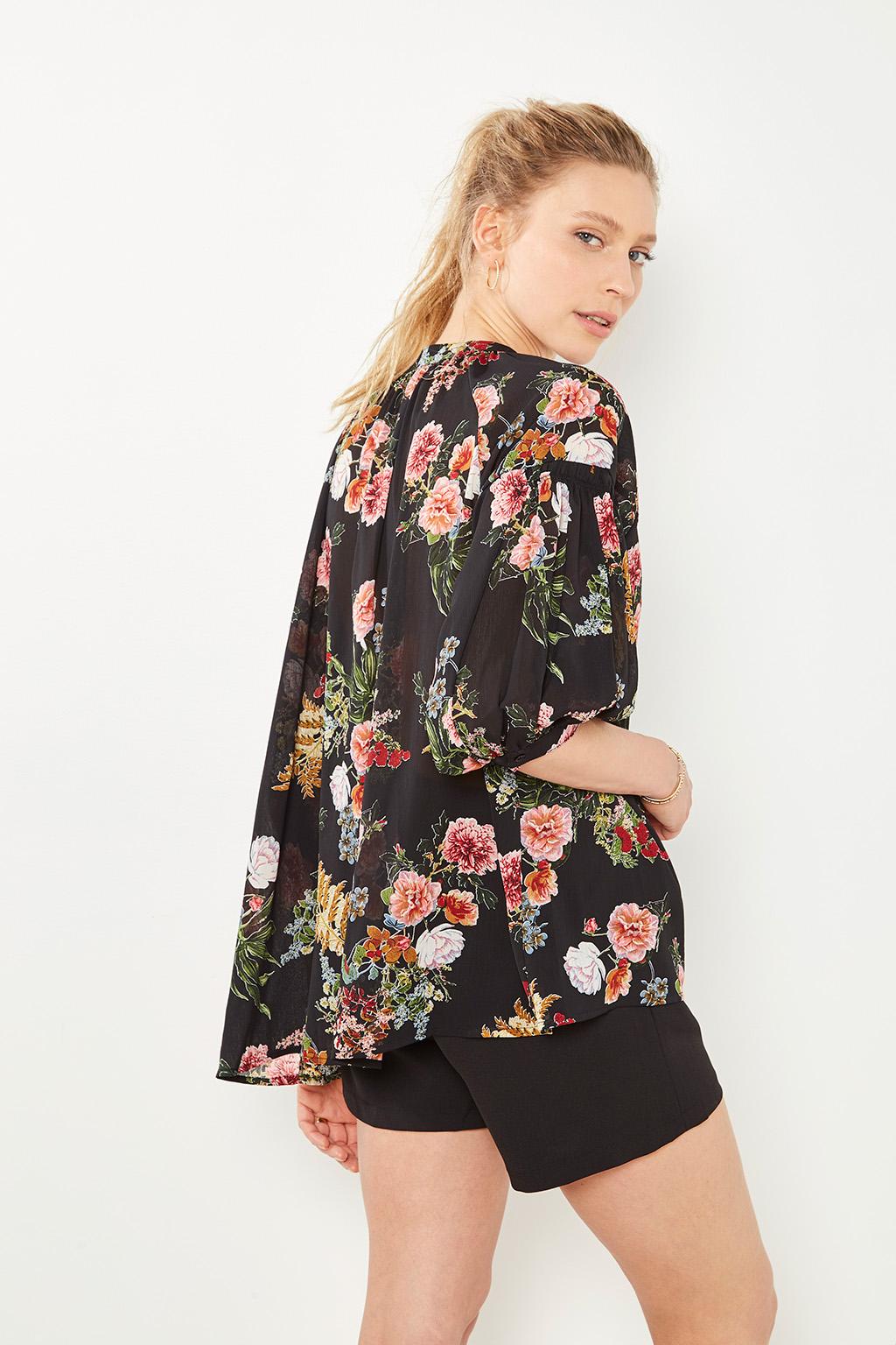 #collectionIRL chemise fleuris