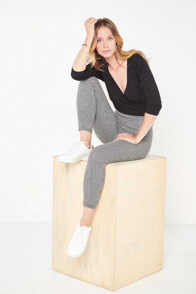 #collectionIRL leggings carreaux