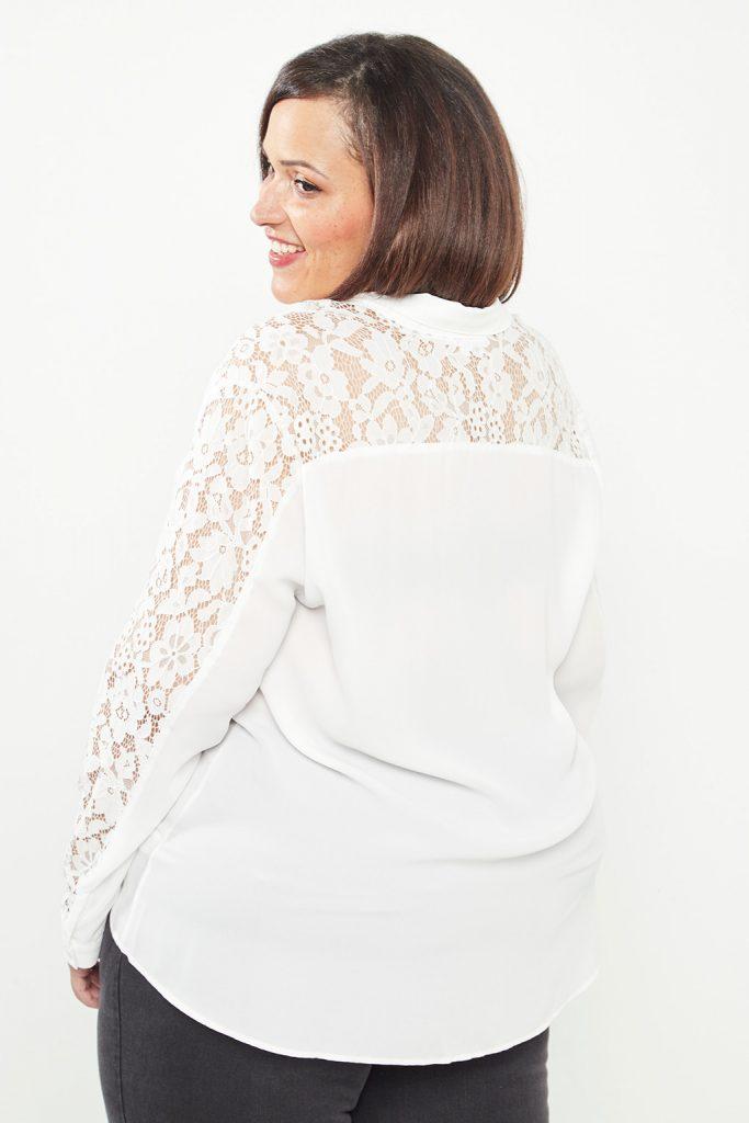 curveIRL chemise dentelle