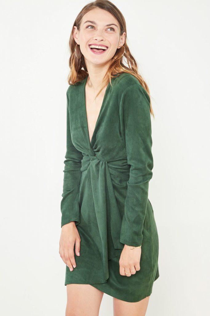 collectionIRL robe effet suède