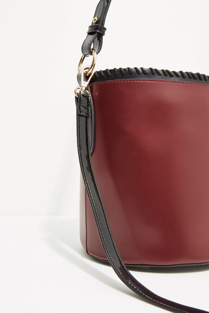collectionIRL sac seau effet cuir
