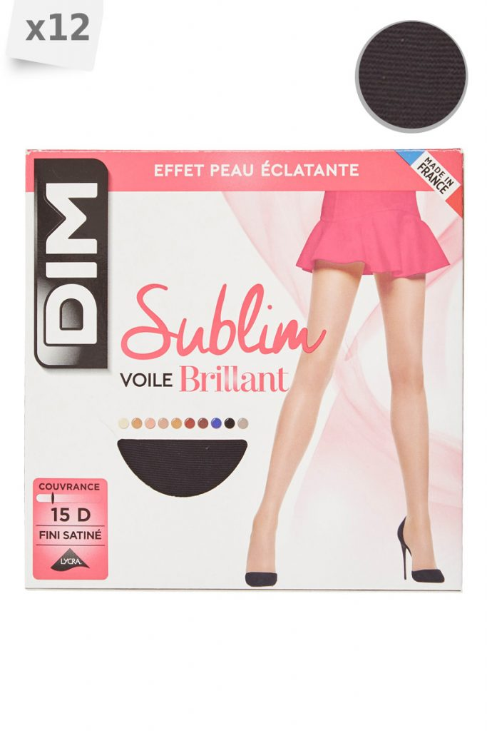 Dim 12 collants sublim voile brillant